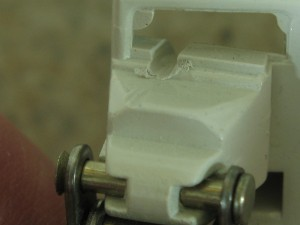 Damaged Cord Lock